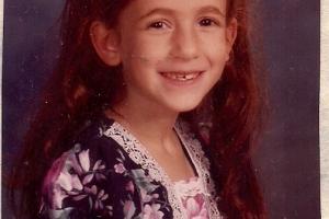 Allison's 2nd grade picture
